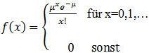 Wahrscheinlichkeitsfunktion_Poissonverteilung