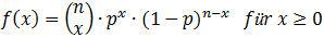 binomialverteilung_wahrscheinlichkeitsfunktion
